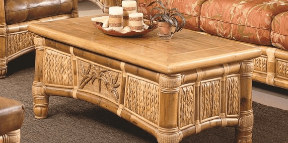 West Palm Rattan Coffee Table