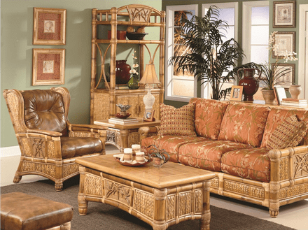 West Palm Rattan Collection-