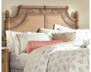 West Palm Rattan King Headboard