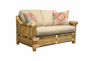 West Palm Rattan Loveseat