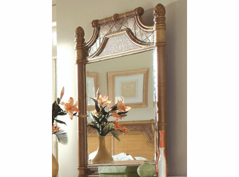 West Palm Rattan Mirror-Sold Out