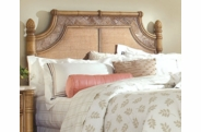 West Palm Rattan Queen Headboard-Hurry only 1 left!
