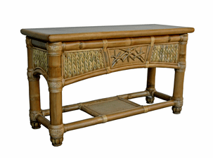 West Palm Rattan Sofa Table