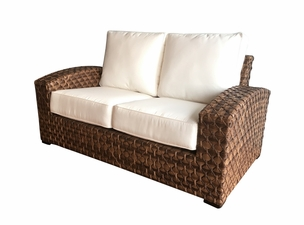 Westbury Outdoor Wicker Loveseat