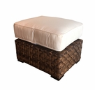 Westbury Outdoor Wicker Ottoman