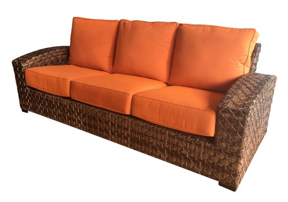 Westbury Outdoor Wicker Sofa