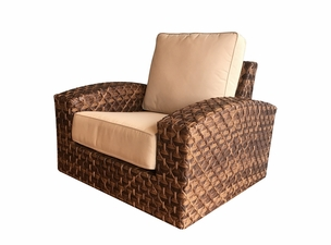 Westbury Outdoor Wicker Swivel Chair