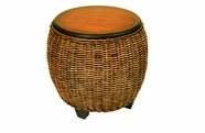 Westport Wicker End Table