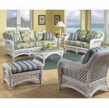 White Wicker Lanai Collection- Ships in 6-8 weeks