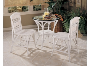 Wicker Bistro Dining Set of 3