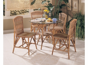Wicker Bistro Dining Set of 5