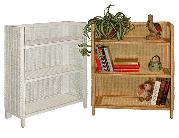 Wicker Bookcase