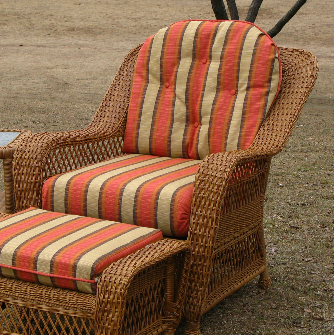 Cheap Wicker Chair: Chair Cushion Set