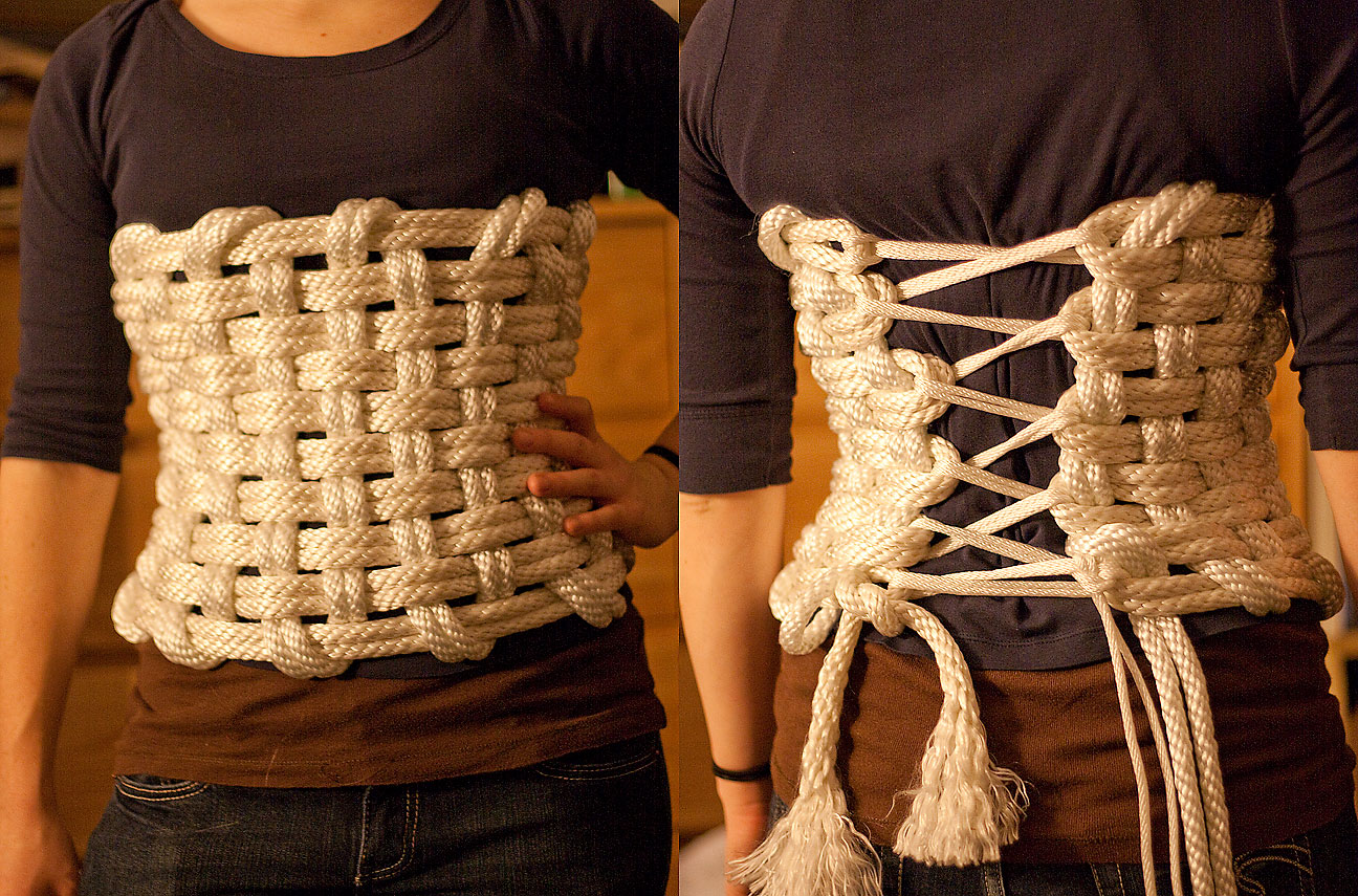 Wicker Corset Cute Wicker Paradise