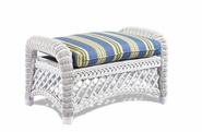 Wicker Ottoman Cushion