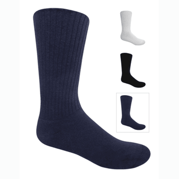 Cushioned 98% Cotton Diabetic Sock