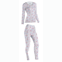 Floral 100% Cotton Ladies Tops and Bottoms