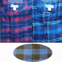 Mens Heavy Cotton Flannel Nightshirts