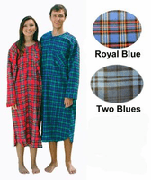 Mens Flannel Nightshirts in Size Small