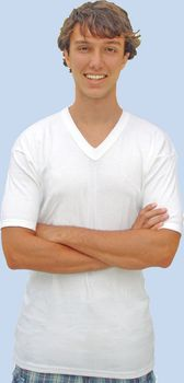 V-Neck Pure Cotton Undershirt