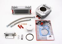 Honda Grom 186cc Big Bore Kit and Oil Cooler Kit by TB Parts