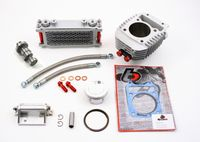 Honda Grom 186cc Big Bore Kit, Oil Cooler Kit, and Performance Camshaft by TB Parts