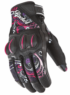 Joe-Rocket - Ladies Gear - Ladies Cyntek Glove in Eye-Candy