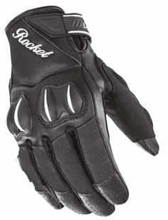 Joe-Rocket - Ladies Gear - Ladies Cyntek Glove in Matte-Black