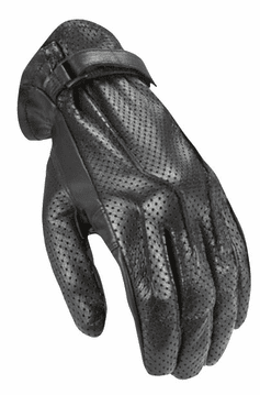 Joe-Rocket - Ladies Gear - Ladies Jet Black Glove in Black-Perf