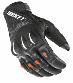 Joe Rocket - Mens Gear - Cyntek Glove in Street Style Hi-Viz Orange