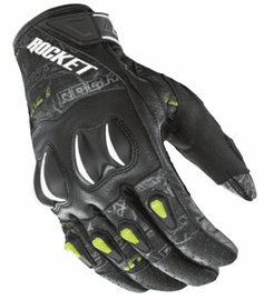 Joe Rocket - Mens Gear - Cyntek Glove in Street Style Hi-Viz Yellow
