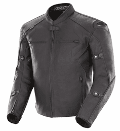 Joe Rocket - Mens Gear - Hyperdrive Jacket in Non Perforated Black
