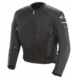 Joe Rocket - Mens Gear - Military Spec Recon Mesh Jacket in Black / Black