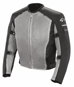Joe Rocket - Mens Gear - Military Spec Recon Mesh Jacket in Grey / Black