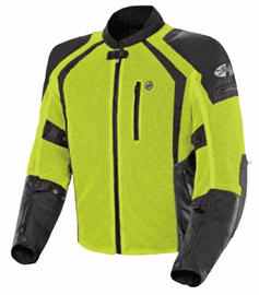 Joe Rocket - Mens Gear - Phoenix Ion Jacket in Hi-Viz Neon