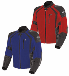 Joe Rocket - Mens Gear - Phoenix Ion Jacket in Red