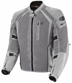 Joe Rocket - Mens Gear - Phoenix Ion Jacket in Silver