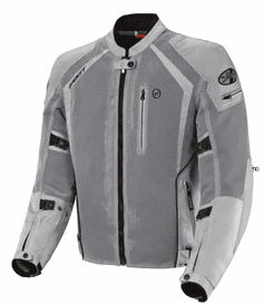 Joe Rocket - Mens Gear - Phoenix Ion Jacket in Silver - Tall Sizes