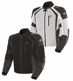 Joe Rocket - Mens Gear - Phoenix Ion Jacket in White