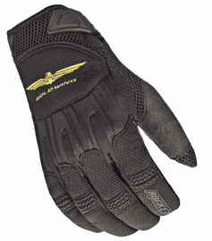 Joe-Rocket - Mens Gear - Skyline-Mesh Glove in Black / Black