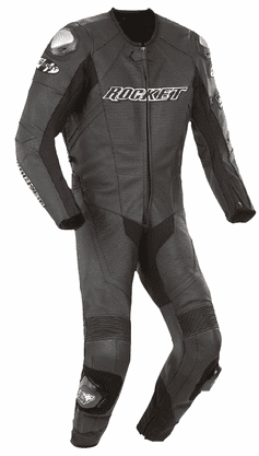 Joe Rocket - Mens Gear - Speedmaster 1-Piece Suit in Black / Black / Black