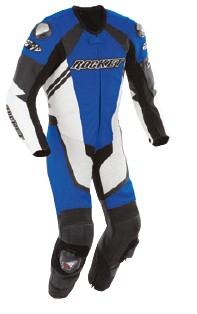 Joe Rocket - Mens Gear - Speedmaster 1-Piece Suit in Blue / White / Black