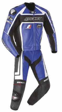 Joe Rocket - Mens Gear - Speedmaster 2-Piece Suit in Blue / Black