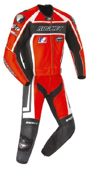 Joe Rocket - Mens Gear - Speedmaster 2-Piece Suit in Red / Black