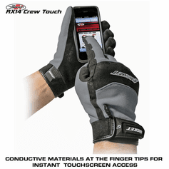 Joe Rocket - RX14 Crew Touch Glove