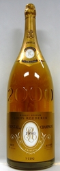 1990 Louis Roederer Cristal Millenium Champagne [Imperial - owc]