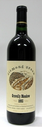 1993 Diamond Creek Cabernet Gravelly Meadow