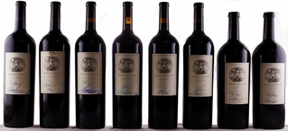 1999-2006, 2009 Harlan Estate [9 Double Magnums - signed]