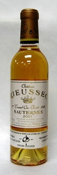 2001 Rieussec [Half Bottle]