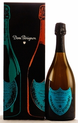 2002 Moet et Chandon Dom Perignon Champagne Andy Warhol Blue Label [Gift box]